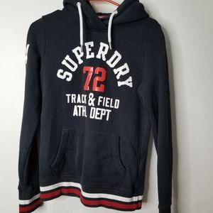 SUPERDRY  Track & Field Hoodie Size 8